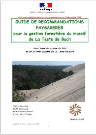 GUIDE de recommandations paysagères pour la gestion forestière du massif de La Teste de Buch